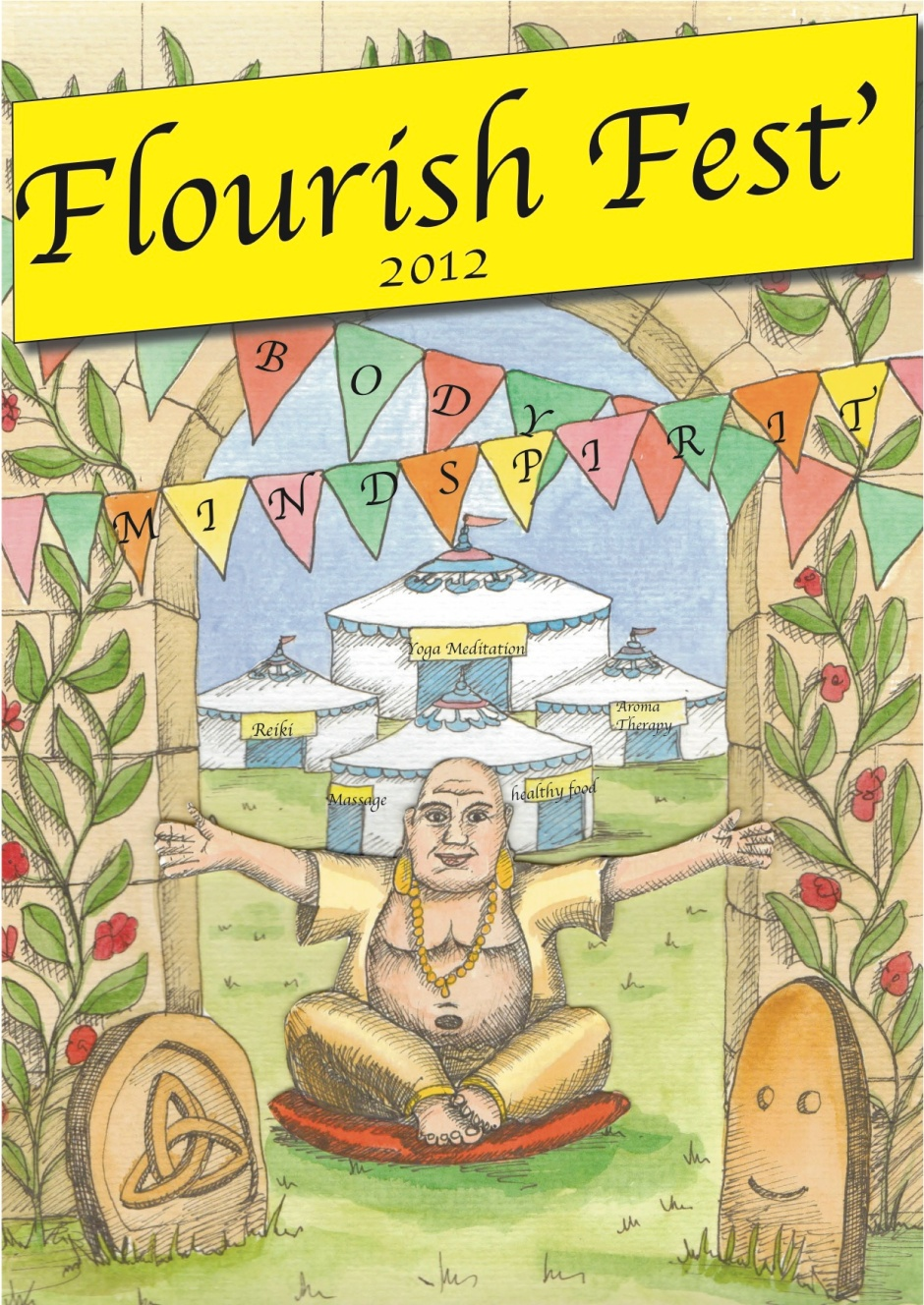 Flourish Fest Poster 2